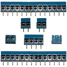 20x 2 vías Conectores de bloque Terminal Tornillo 16A 300V | 5mm Modulares PCB de paso para