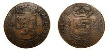 Netherlands 1675 CU Jeton Prince De Barbancon Governer of Namur Rare VF  5017