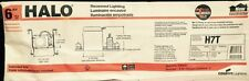 """Halo H7T 6"""" Non-IC Recessed Lighting Housing Units 6 Pack New In Box ~ Free Ship"""