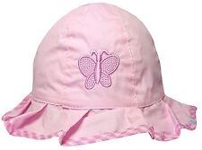 Sombrero Para Sol Niñas Con Volantes Mariposa 100% Algodón Verano Gorro pescador