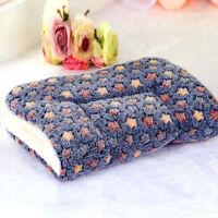 Extra Large Soft Cosy Warm Fleece Pet Dog Cat Animal Blanket Bed Mat Pad