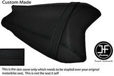 BLACK AUTOMOTIVE VINYL CUSTOM FITS BENELLI TORNADO 900 TRE REAR SEAT COVER ONLY