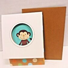 "NoJo Jungle Tales 10 Note Blank Thank You Cards Envelopes Keepsake Box 3.5"" x 5"""