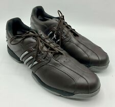 New listing Adidas Brown Tour 360 Boost Golf Shoes sz 14