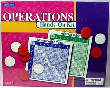 Lakeshore Operations Hands-On Kit GG879 NEW NIB Teaching Homeschool