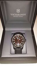 Mens Victorinox Swiss Army Airboss Automatic Black Dial Black Watch 241720