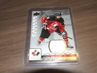 2017-18 Upper Deck UD Team Canada Juniors jared mcisaac Jersey #47