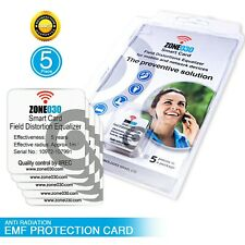 Anti Radiation EMF Protection Card for Mobile And Network Devices ( 5 Pack)