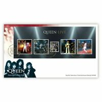 Great Britain 2020 Queen Music Giants Mini Sheet First Day Cover FDC