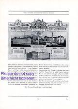 Klavier Thürmer Meissen XL Reklame 1928 Pianofortefabrik Werbung Flügel Piano +