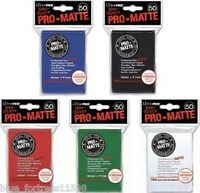 *MIX/MATCH* 10 PACKS PRO-MATTE DECK PROTECTORS CARD SLEEVES FOR POKEMON MTG WoW