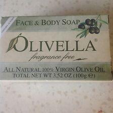 Olivella Fragrance Free Soap
