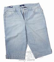 New Bandolino BRADY Skimmer Denim Capri Shorts Flawless Stretch 18 16