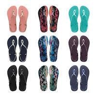 Original Havaianas Luna Flip Flops New Beach Sandals Women All Sizes Colors NIB
