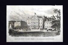 Viaggio di Edoardo,Principe di Galles,in Irlanda,Powerscourt Incisione del 1868