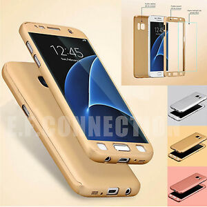 COQUE 360 FULL PROTECTION SAMSUNG S8 9 A10 A20e A40 A50 +FILM VITRE VERRE TREMPE