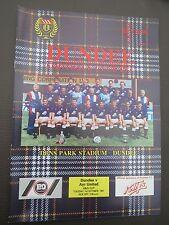 Dundee V  Ayr B & Q Cup  1991/2