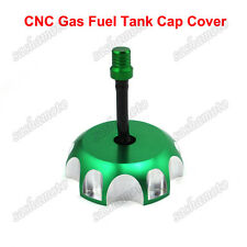 Green CNC Gas Fuel Tank Cap For Kawasaki KX450F KX250F KX250 2006 2007-2014 2015