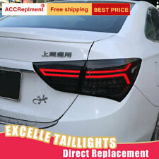 For Buick EXCELLE-XT LED Taillights Assembly Dark /Red LED Rear Lamps 2015-2017