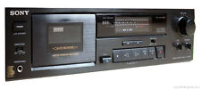 Vintage SONY TC-RX370 Stereo Cassette Deck w/Box - Parts or Repair - Read Below!