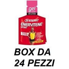 ENERVIT ENERVITENE GEL LAMPONE BOX DA 24pz integratore alimentare con caffeina