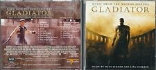 CD -  HANS ZIMMER AND LISA GERRARD ‎– GLADIATOR: MUSIC FROM THE MOTION  ( 300 )