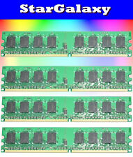 8GB 4X 2GB Kit DDR2 PC5300 LOW DENSITY PC2-5300 667MHz Desktop Memory 240Pin New