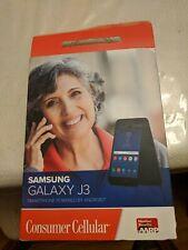 Samsung - Galaxy J3 - Black (Consumer Cellular)