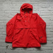 Vintage North Face Goretex Pullover Mountain Parka Jacket Size M L Red 80s
