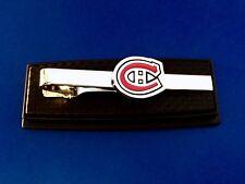 Montreal Canadians Tie Bar Hockey Logo Tie Clip