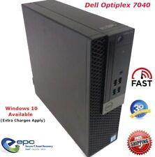 Dell Optiplex 7040 SFF Desktop Core i5-6500 3.2GHz Win 10 Available