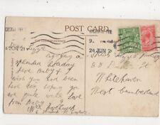 Miss Lizzie Hornsby Duke Street Whitehaven 1921 461b