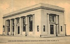 Hicksville,Long Island,N.Y.Long Island National Bank,Nassau Co.Used,1940