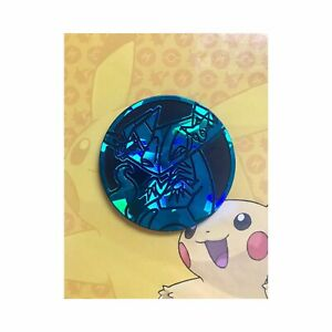 Pokémon   Dragapult   Shiny   Large Collectible Coin   Black and Teal   Shatter