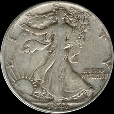 A 1943 P Walking Liberty Half Dollar 90% SILVER US Mint (Exact Coin Shown) R63