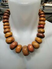 Handcrafted Jewelry Handmade Moroccan Necklace Amber Beaded Berber