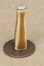 1:12 Scale Brown 2.5cm High Ceramic Vase Tumdee Dolls House Ornament Flower Br4