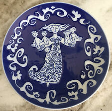 "1972 Mors Dag Royal Copenhagen 6"" Mother's Day Sweetest Plate, 45yrs • 100% Mint"