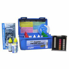 Taylor K-2006 Complete Deluxe Fas-Dpd Chlorine/Bromine Pool Test Kit, High Range