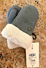 NEW NWT Authentic Kids Ugg Mittens Gray Size 2-4 Years Old