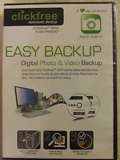EASY BACKUP - DIGITAL PHOTO & VIDEO BACKUP by Clickfree Automatic Backup