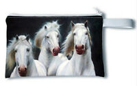 HORSE & WESTERN GIFTS HANDBAG ACCESSORIES LADIES HORSES  MAKE UP BAG PENCIL CASE