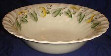 MH139 Vtg Myott Old Chelsea Westmoreland Bone China Vegetable Serving Bowl