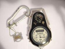 COLIBRI SPORTSMENS clip or pocket  watch CHRONO  DIGITAL/ANALOG AS-IS