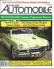 Collectible Automobile Magazine October 1990 Vol 7 - No 3