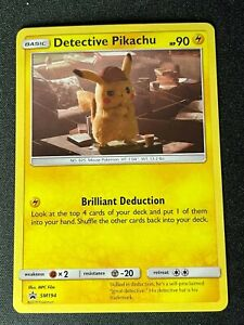 CARTE POKEMON CARD Detective Pikachu Pokemon TCG SM194 EN - NEW