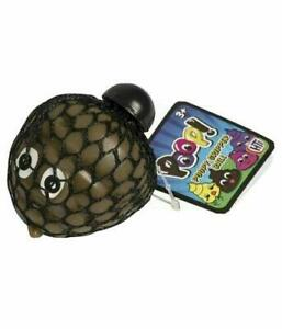 Poopy Mesh Ball Fidget Stress Toys Squishes Kids Fun Play Squeezy Gripper Ball