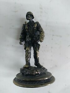 American Heroes, The army Way Handcrafted Pewter Statue, Vanmark,  2004 vm