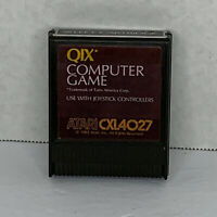 Qix (Atari 400 / 800 / XL / XE, 1983) CART ONLY! TESTED & CLEANED!