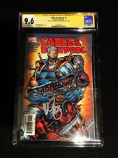 Cable and Deadpool #1 - CGC 9.6 SS 2x Signatures Brooks & Nicieza